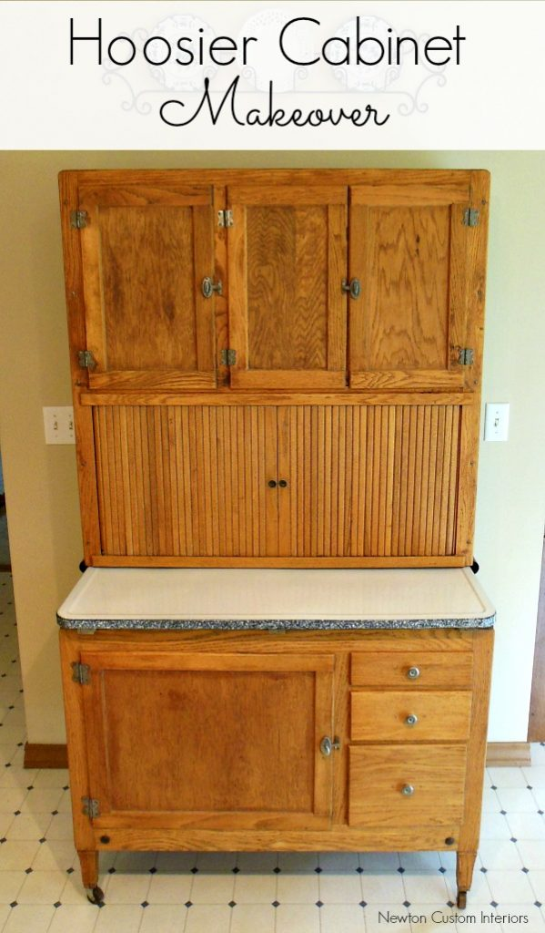 Hoosier Cabinet Makeover From