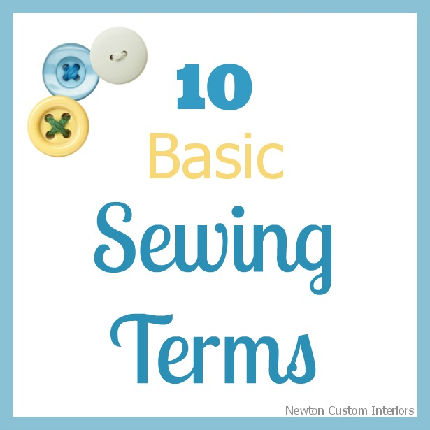 sewing-terms