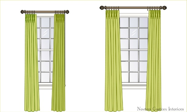 The Best Way To Hang D Ries Or Curtains Newton Custom