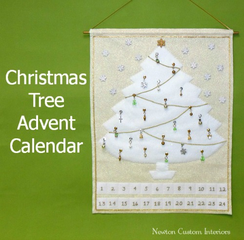 Diy Sewing Advent Calendar : Christmas decorating gift inspirations life on