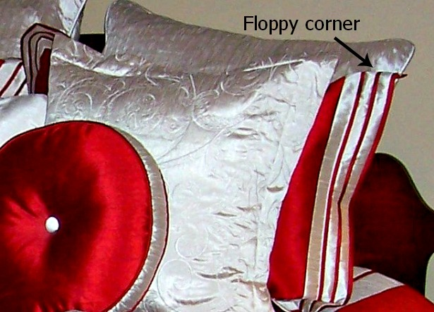 make a flanged pillow