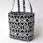 Tote Bag Tutorial from NewtonCustomInteriors.com