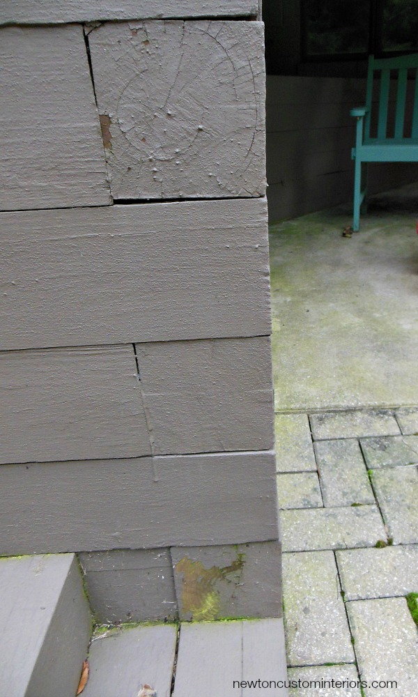 How To Re-Finish A Deck - An Update - Newton Custom Interiors