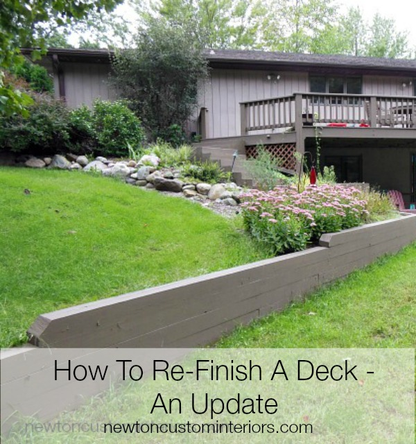 used on the deck is Pittsburgh Paints & Stains Revitalize Wood ...