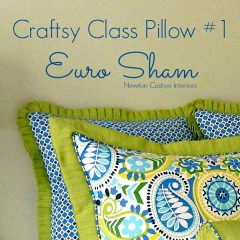 Craftsy Class Euro Sham cropped