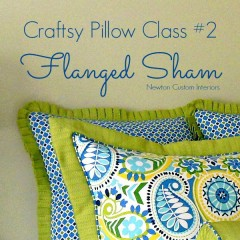 Craftsy Class Flanged Sham cropped