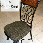 How To Recover A Chair Seat from NewtonCustomInteriors.com