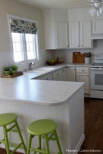Our White Kitchen Reveal!!