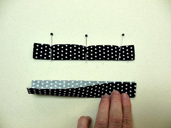 pinned strips