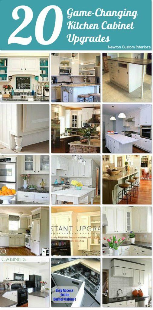 20 kitchen cabinet upgrades newton custom interiors On cabinet upgrades