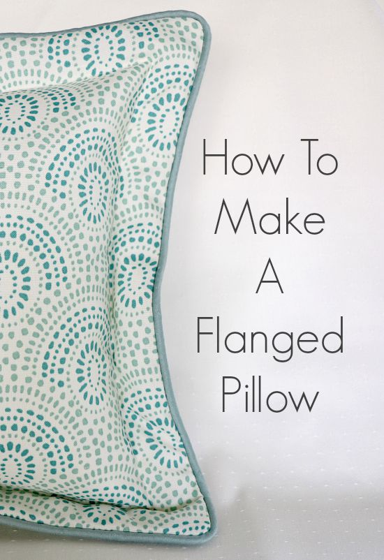 How To Make A Throw Pillow With Piping : How To Make A Flanged Pillow With Cording - Newton Custom Interiors