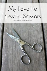 My Favorite Sewing Scissors from NewtonCustomInteriors.com.  I have several favorite sewing scissors, and they each have a special job!
