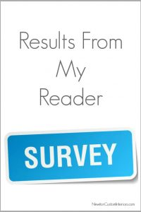 results of reader survey