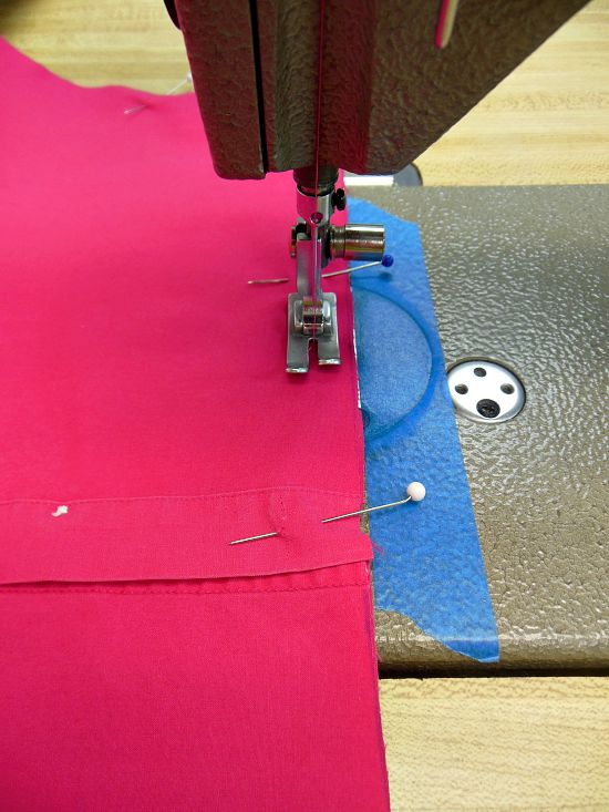 sewing seam