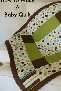 Grandson's Baby Quilt