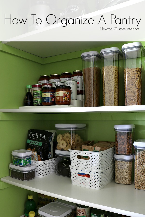 How To Organize Pantry Shelves Tips