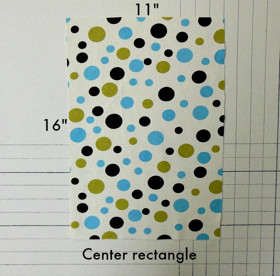 center rectangle