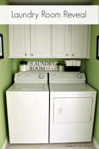 Laundry Room Reveal!