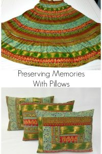 Preserving Memories With Pillows!