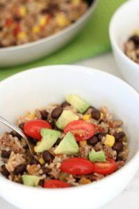 Black Bean & Rice Casserole