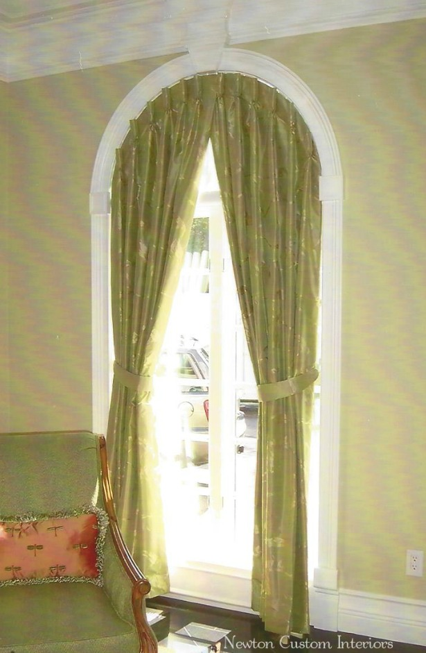 curtain rods for half circle windows | curtain menzilperde